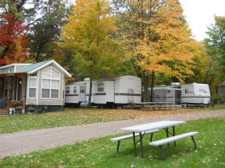 Campground with RVs